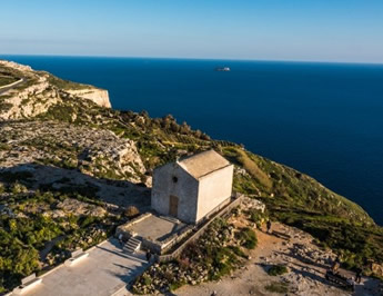 Lovely Chapel at Dingli Cliffs